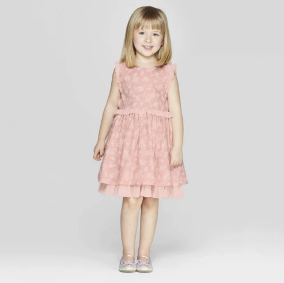 Mila & Emma Toddler Girls' Sleeveless A-line Dress. (Photo: Target)