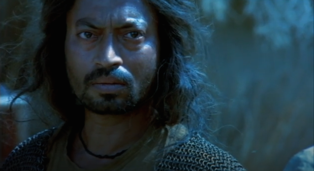 Before Bollywood woke up to Irrfan's exceptional talent, the actor's skillful turn as a swordsman trying to walk away from his role as a mercenary in feudal Rajashan, made him a promising name in the international circuit. Made by British filmmaker Asif Kapadia, The Warrior travelled to various film festivals and won awards and accolades alike.