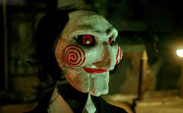 The Jigsaw Killer's puppet avatar from the  <em>Saw </em>movies (Image: Lionsgate)