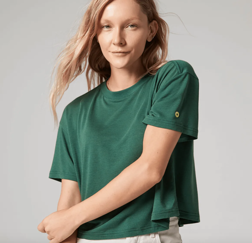 The TrinXO Tee is available in six different colours for both men and women.