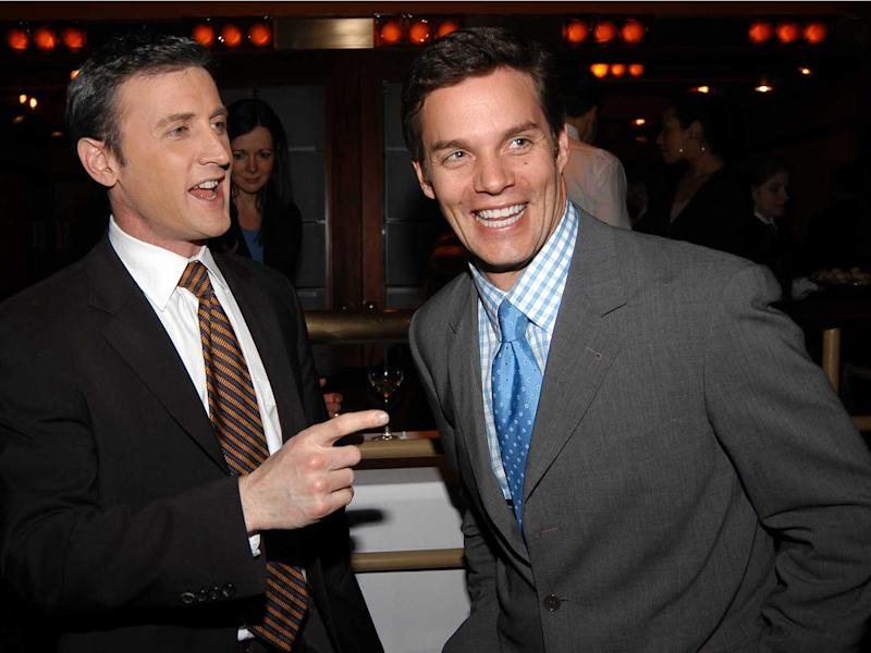 Dan Abrams and Bill Hemmer in 2005.
