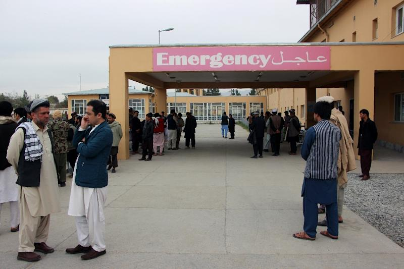 12 killed as blast targets election rally in Afghanistan