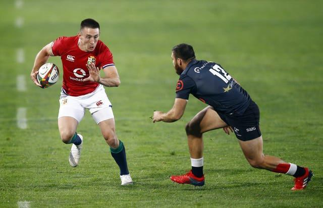 Josh Adam has scored eight tries in three starts for the Lions