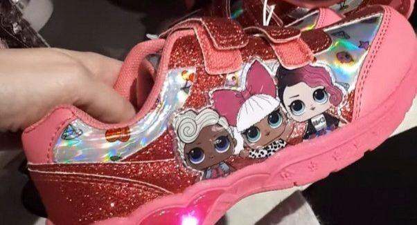 Parents are raving about a £12 pair of light-up trainers being sold by Primark [Image: Facebook]