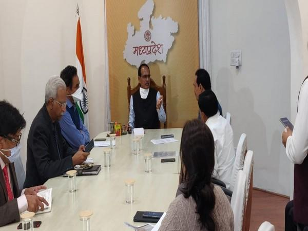 MP CM Shivraj Singh Chouhan holds a high-level meeting over Morena incident.