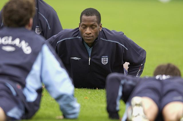 Ugo Ehiogu played 15 games for England and scored in Sven-Goran Eriksson's first-ever match as England match