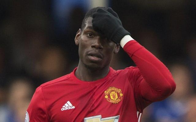 Paul Pogba will not feature in Thursday's derby against Manchester City - Copyright (c) 2016 Rex Features. No use without permission.