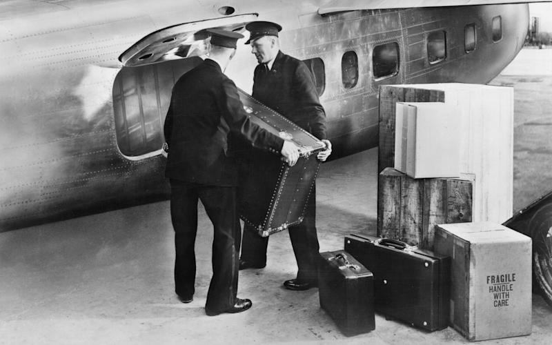 The rise of air travel in the Thirties led a phase of luggage innovation - getty