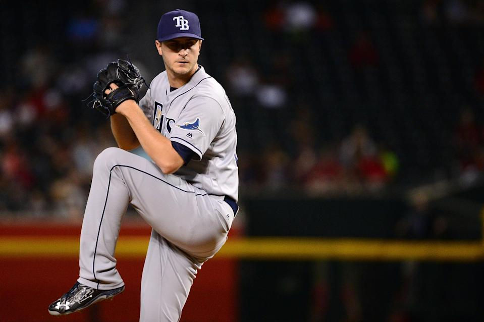 Tampa Bay isn't just going to give away 26-year-old Jake Odorizzi. (Getty Images)