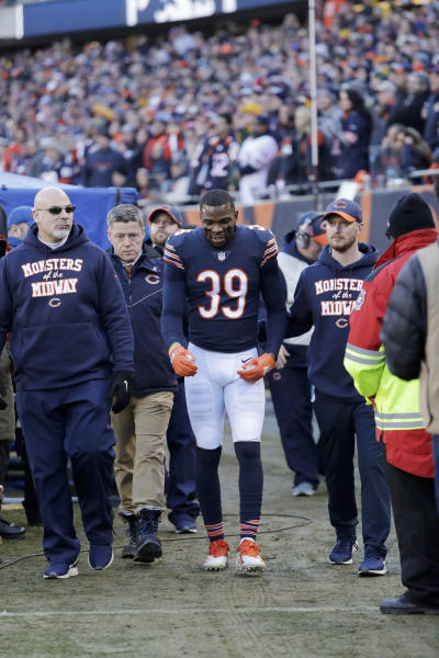 e2e23f63b52 Bears safety Eddie Jackson questionable for playoff game