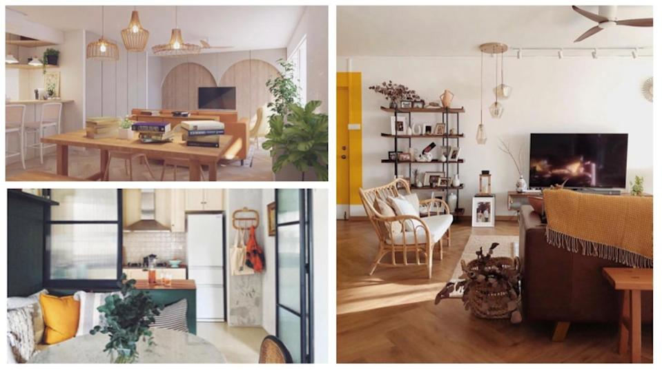 PHOTOS: INSTAGRAM/@OCHRE.HOME, @THELIMHAUS, @CNBRR.HM