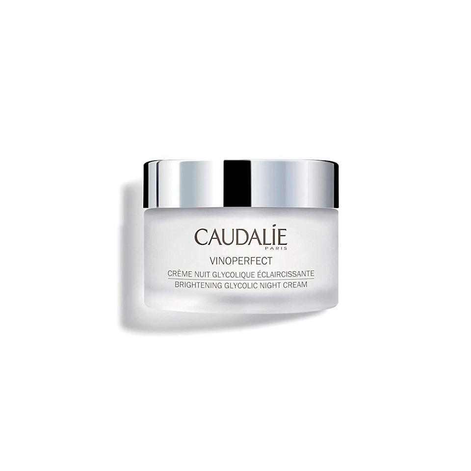 """<p><strong>Caudalie Vinoperfect Brightening Glycolic Overnight Cream</strong></p><p>sephora.com</p><p><strong>$65.00</strong></p><p><a href=""""https://go.redirectingat.com?id=74968X1596630&url=https%3A%2F%2Fwww.sephora.com%2Fproduct%2Fvinoperfect-brightening-glycolic-overnight-cream-P440200&sref=https%3A%2F%2Fwww.harpersbazaar.com%2Fbeauty%2Fskin-care%2Fg19738338%2Fbest-skin-care-brands%2F"""" rel=""""nofollow noopener"""" target=""""_blank"""" data-ylk=""""slk:Shop Now"""" class=""""link rapid-noclick-resp"""">Shop Now</a></p><p>Caudalie is a French skincare brand that relies on all-natural grape extracts from the regions of Bordeaux, Champagne, and Burgundy. Red wine drinkers already know this to be true: grapes are high in antioxidants and compounds resveratrol and polyphenols, which give the entire line its unique and effective anti-aging philosophy.</p>"""