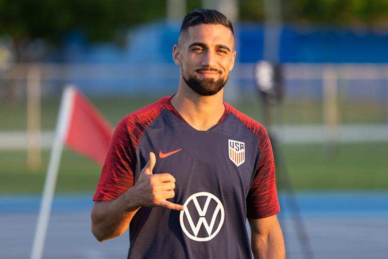Sebastian Lletget has improved his USMNT stock lately. (John Dorton/ISI Photos/Getty)