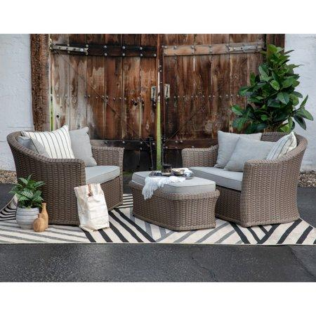 Belham Living Wicker Outdoor Set (Walmart / Walmart)