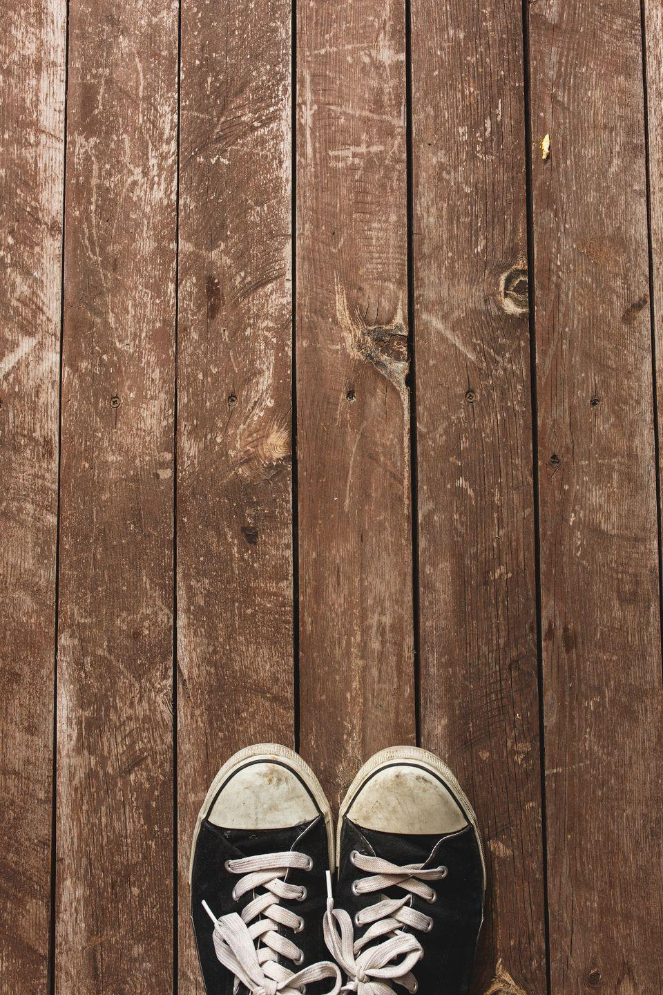 "<p>Like it or not, your shoes are already tracking <a href=""https://www.countryliving.com/home-maintenance/cleaning/a36914/dont-wear-shoes-in-house/"" rel=""nofollow noopener"" target=""_blank"" data-ylk=""slk:bacteria all of over your house"" class=""link rapid-noclick-resp"">bacteria all of over your house</a>. Don't let the stench travel too. If the odor reaches your nose, buy some new sneaks.</p>"