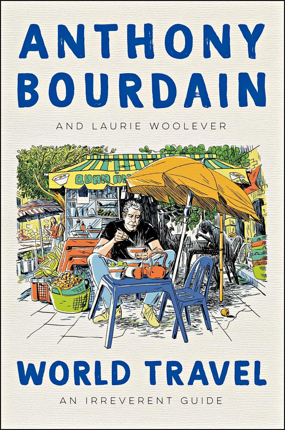 <p>The late television host had dreams of creating a guidebook for all his favorite cities across the world, and his longtime assistant and collaborator took the notes from their singular brainstorming session and turned that dream into a reality. Woolever uses Bourdain's own words from episodes of <em>No Reservations </em>and <em>Parts Unknown </em>and essays from his friends and family to round it out. (April 13)</p>