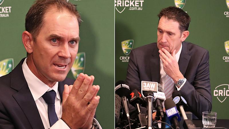 Justin Langer has described himself as a 'hippie' after being announced as Australia's new cricket coach. Pic: Getty