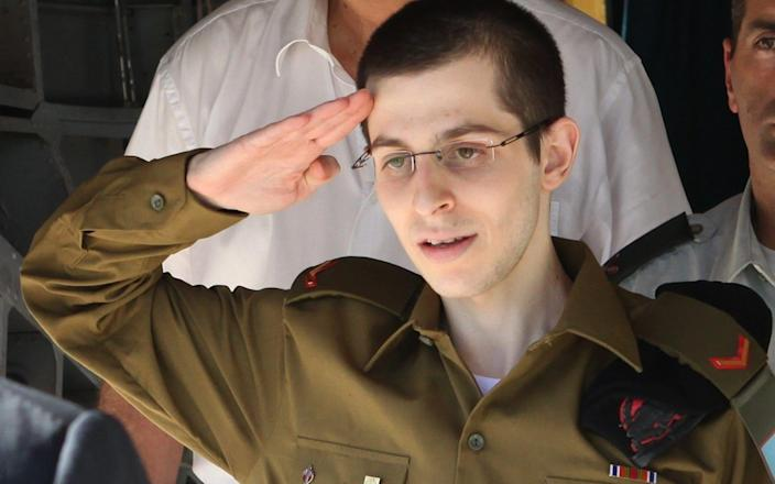 Israeli soldier Gilad Shalit was a captive of Hamas for five years until he was released in 2018 - AFP