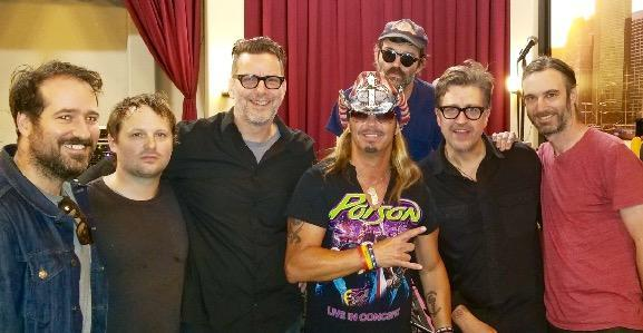 Bret Michaels with the Eels. (Photo: Michaels Entertainment Group)