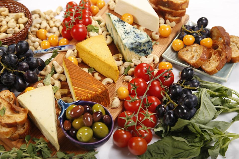 A selection of cashew-based, dairy-free cheeses produced by Nuts for Cheese. (Margaret Coons)