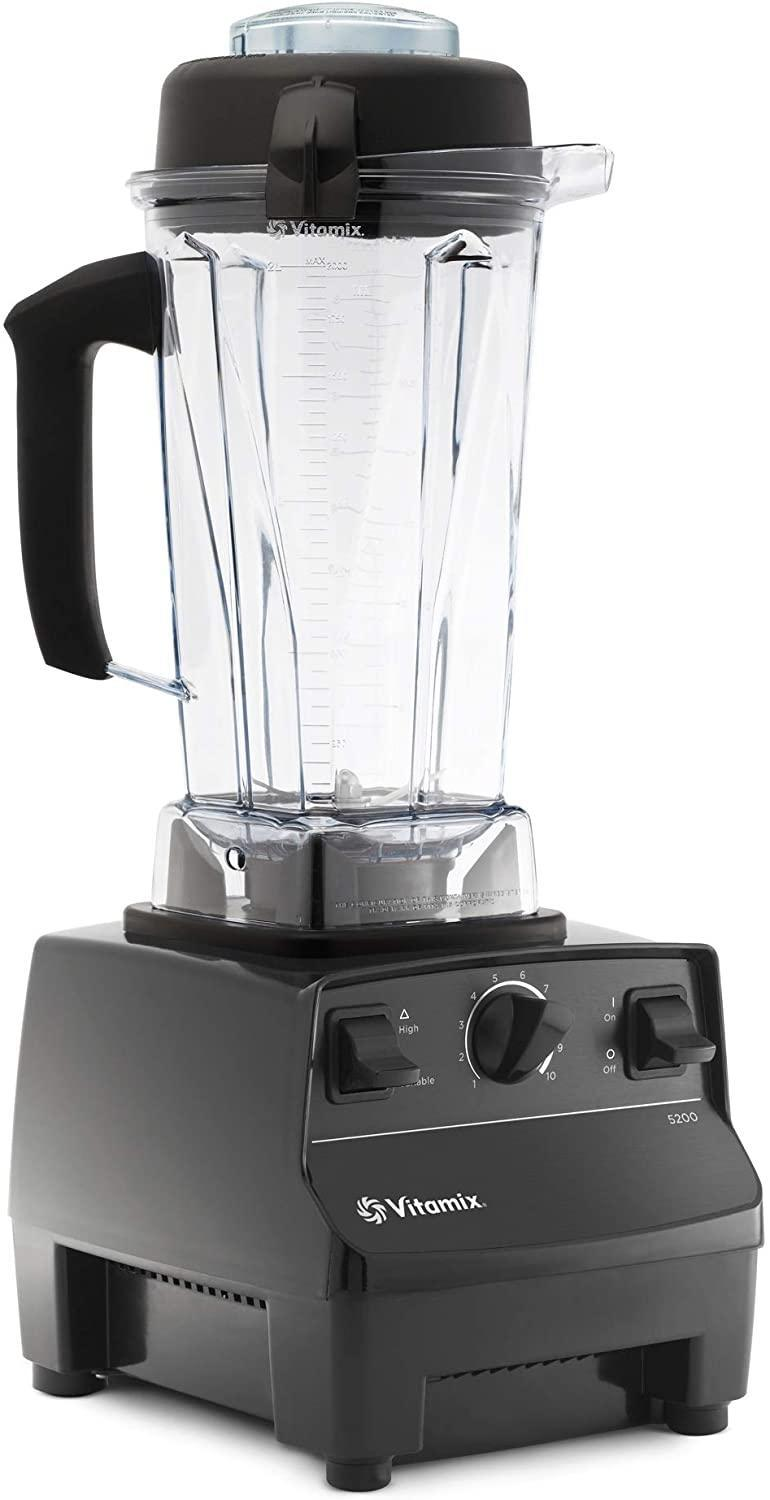 "<br><br><strong>Vitamix</strong> 5200 Self-Cleaning 64 oz Container Blender, $, available at <a href=""https://amzn.to/3k2HyEH"" rel=""nofollow noopener"" target=""_blank"" data-ylk=""slk:Amazon"" class=""link rapid-noclick-resp"">Amazon</a>"