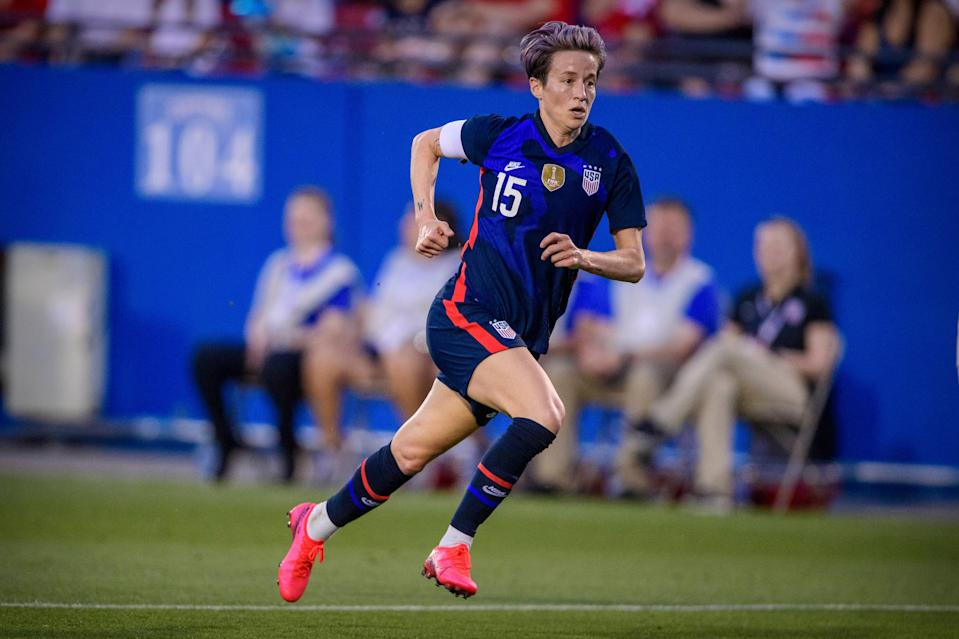 Megan Rapinoe seeks her second Olympic gold medal after the Americans finished fifth at the 2016 Games in Rio.
