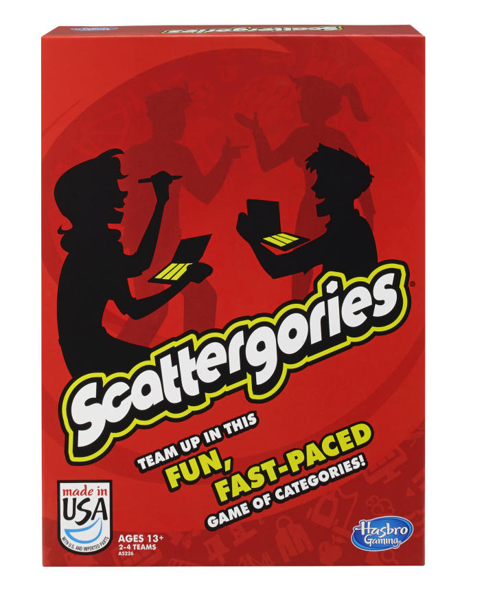 Classic Scattergories Game, Party Game for Ages 13 and up (Walmart / Walmart)