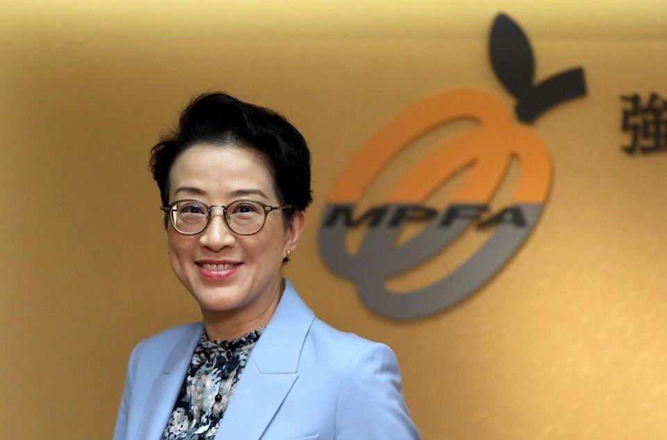 Alice Law Shing-mui, deputy chairman and managing director of Mandatory Provident Fund Schemes Authority. Photo: Nora Tam