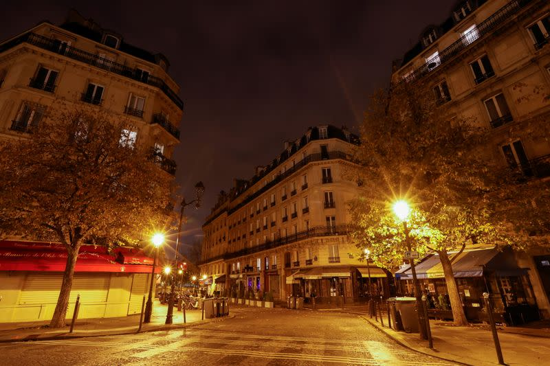 Paris to go back under evening curfew as COVID-19 cases rise - government