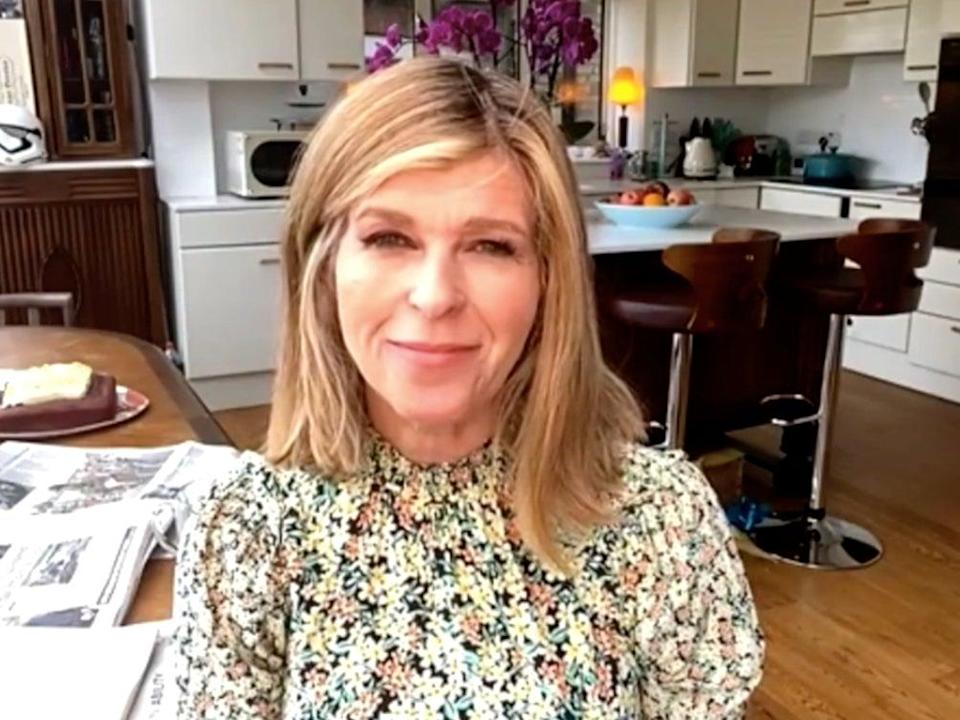 Kate Garraway gave an update on her husband, Derek Draper's condition following a long battle with Covid-19 (BBC/Andrew Marr)