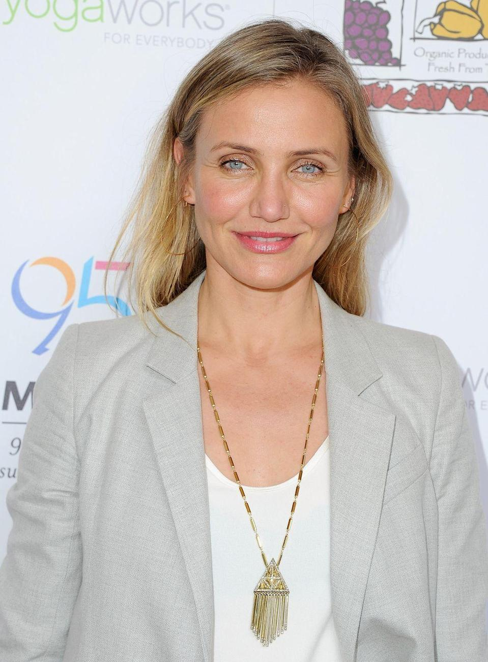 """<p>Ever wonder what Cameron Diaz eats for breakfast to get that body? According to an interview with <a href=""""https://www.bonappetit.com/columns/my-morning-routine/article/cameron-diaz-longevity-book-food"""" rel=""""nofollow noopener"""" target=""""_blank"""" data-ylk=""""slk:Bon Appétit"""" class=""""link rapid-noclick-resp""""><em>Bon Appétit</em></a>: protein. """"I just put something in my stomach before my workout—usually scrambled eggs, toast, an avocado, an apple with almond butter, <a href=""""https://www.prevention.com/food-nutrition/recipes/g25253175/overnight-oats-recipes/"""" rel=""""nofollow noopener"""" target=""""_blank"""" data-ylk=""""slk:overnight oats"""" class=""""link rapid-noclick-resp"""">overnight oats</a>, or a piece of chicken,"""" she said.</p>"""