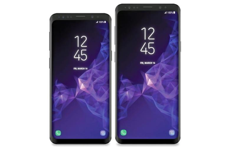 The Samsung Galaxy S9 and S9+ - Evan Blass/VentureBeat