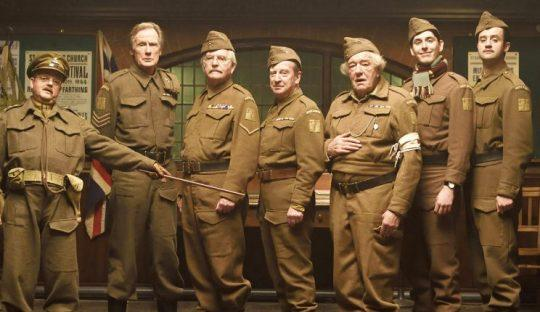 No Merchandising. Editorial Use Only. No Book Cover Usage Mandatory Credit: Photo by Universal/Everett/REX/Shutterstock (5579388a) Toby Jones, Bill Nighy, Tom Courtenay, Bill Paterson, Michael Gambon, Blake Harrison, Daniel Mays Dad's Army - 2016