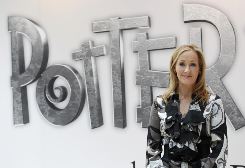 File photograph of British author JK Rowling