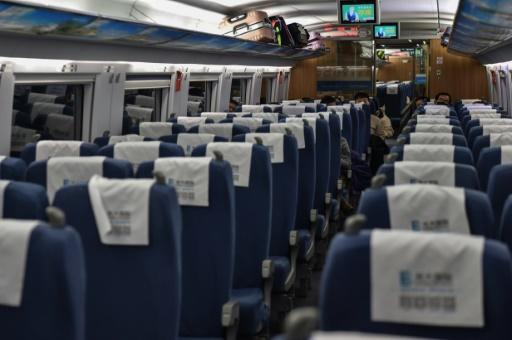 Trains and planes out of Wuhan have been cancelled and incoming traffic has just a handful of passengers