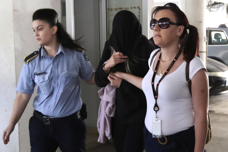 British woman found guilty of lying about Cyprus gang rape
