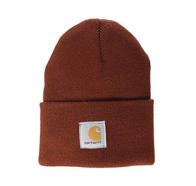 """<p><strong>Carhartt</strong></p><p>amazon.com</p><p><strong>$42.99</strong></p><p><a href=""""https://www.amazon.com/dp/B08BG6BDSY?tag=syn-yahoo-20&ascsubtag=%5Bartid%7C10055.g.29499968%5Bsrc%7Cyahoo-us"""" rel=""""nofollow noopener"""" target=""""_blank"""" data-ylk=""""slk:Shop Now"""" class=""""link rapid-noclick-resp"""">Shop Now</a></p><p>Keeping cozy has never been easier thanks to this trendy, thick Carhartt beanie — and it's made in the USA. Just don't be surprised when the recipient's S/O nabs it while they're not looking.</p>"""