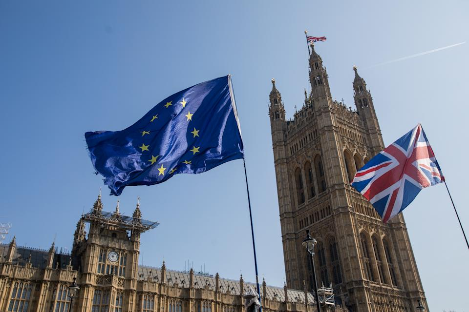 UK PM Boris Johnson said 'we now seize the moment to forge a fantastic new relationship with our European neighbours, based on free trade and friendly co-operation.' Photo: Getty Images