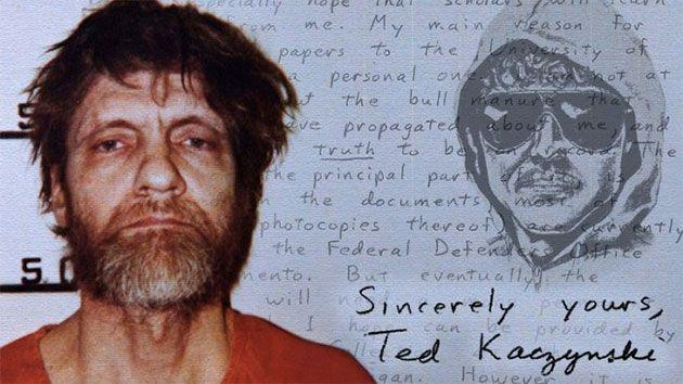 Kaczynski was a madman reminisced of when he tried to blow up a plane when the dramatic event played out on the radio inside his prison cell. Photo: Yahoo US