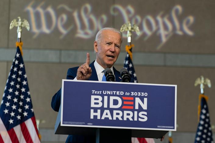 Democratic presidential nominee Joe Biden warns opponent over 'abuse of power'  (AP)