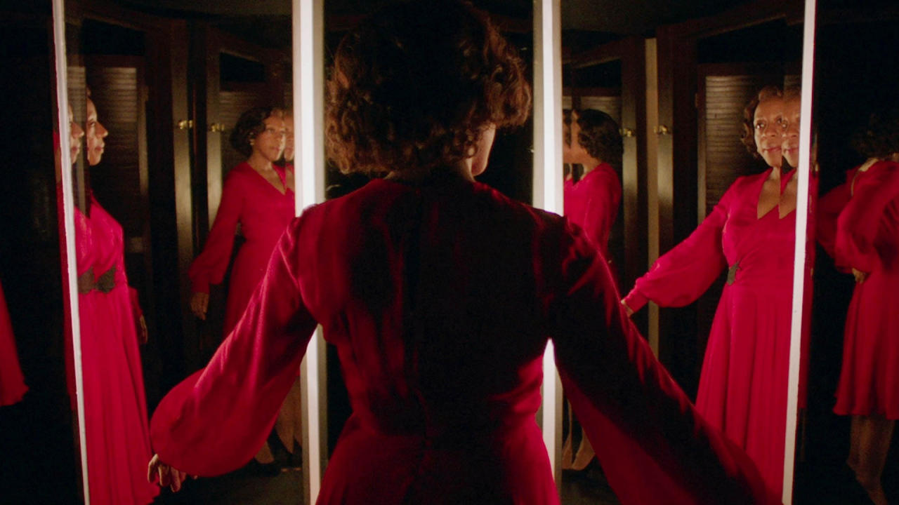 Peter Strickland is one of Britain's most exciting voices in uncategorisable genre cinema, and <em>In Fabric</em> is arguably his crowning achievement to date. The story traces the various owners of a dress which seems to have supernatural powers. It's part giallo homage, part kitchen sink drama and all weird. One of the year's most pleasant surprises. (Credit: Curzon)