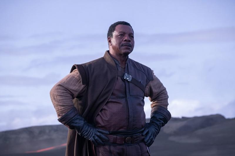 Carl Weathers in The Mandalorian (Credit: Disney)