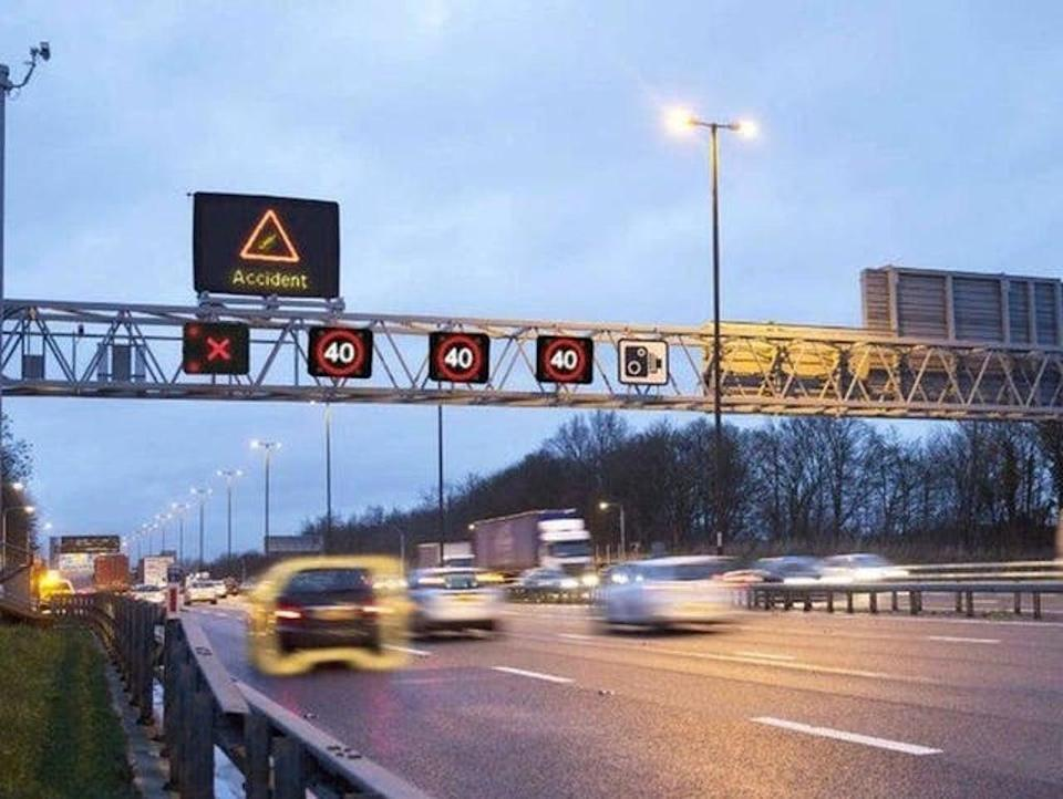 Extra emergency laybys, more warning signs and increased markings will be introduced along sections of theM1 (gov.uk)