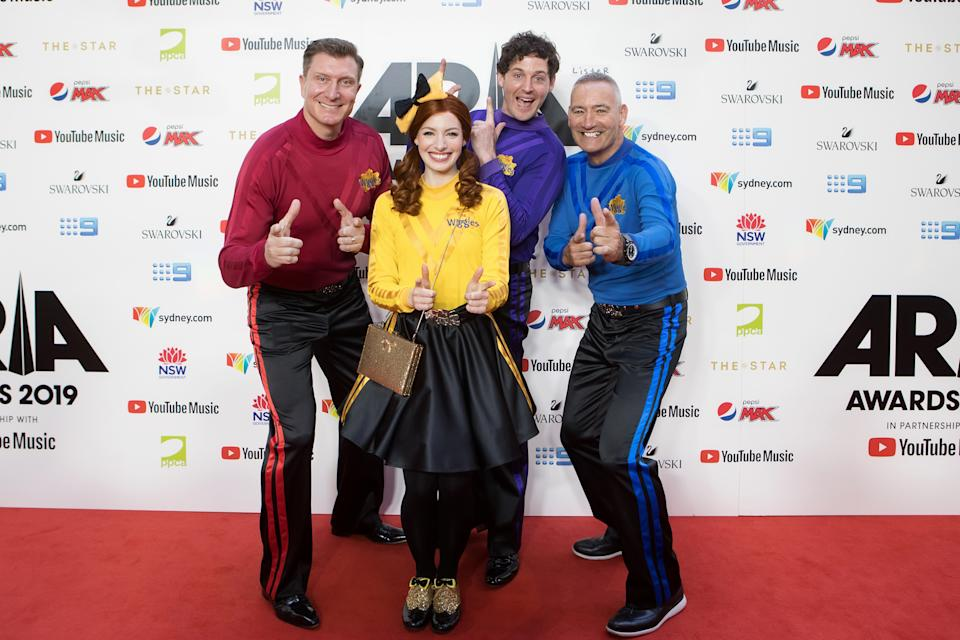 """Jacinda Ardern has issued a """"strong warning"""" to event promotors after it was revealed The Wiggles may not be able to fulfil their planned tour of New Zealand as they aren't able to quarantine everyone in time. Photo: Getty"""