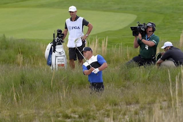 For the second straight major, the CBS telecast missed one of the most important moments of a tournament.