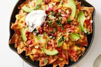 "<p>Serve up this sizzling one-skillet scramble for brunch <em>or </em>dinner. Either way, you're basically having nachos as a meal.</p><p><em><a href=""https://www.goodhousekeeping.com/food-recipes/a39354/mexican-breakfast-chilaquiles-recipe/ "" rel=""nofollow noopener"" target=""_blank"" data-ylk=""slk:Get the recipe for Mexican Breakfast Chilaquiles »"" class=""link rapid-noclick-resp"">Get the recipe for Mexican Breakfast Chilaquiles »</a></em><br></p>"