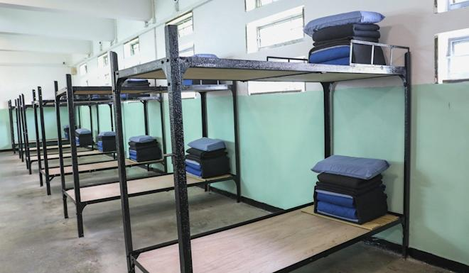 A room for inmates at Pik Uk Prison in Clear Water Bay. Photo: Dickson Lee