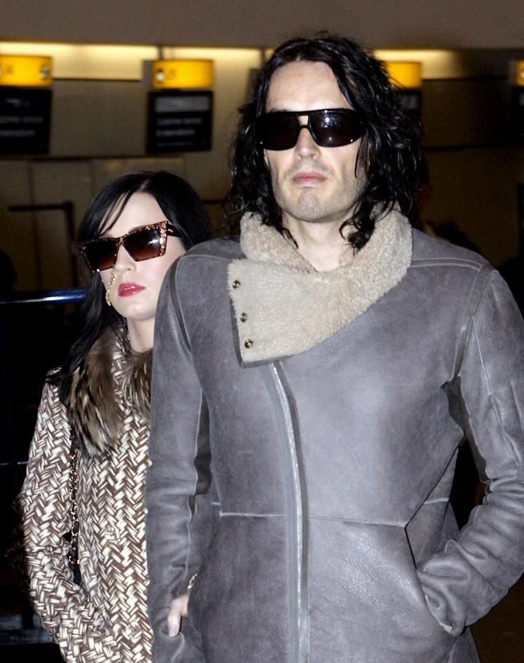 """Katy Perry and Russell Brand's honeymoon in the Maldives didn't go exactly as planned,"" begins a piece on RadarOnline.com, which goes on to explain that ""the new bride was bitten by a spider their first day there"" and, as a result, ""developed a nasty rash."" What's worse is that medication for the rash made her ""tired, drowsy and unable to consummate the marriage."" Whoa! Find out how bad Perry admits things were by clicking over to <a href=""http://www.gossipcop.com/katy-perry-bitten-spider-bite-honeymoon-maldives-russell-brand/"" target=""new"">Gossip Cop</a>. <a href=""http://www.infdaily.com"" target=""new"">INFDaily.com</a> - October 19, 2010"