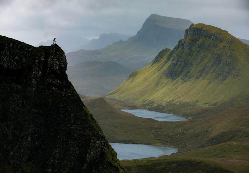 Quiraing on Isle of Skye. (Photo: Paul Zizka/Caters News)