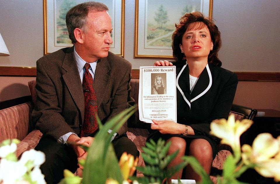 "<p>Police immediately grew suspicious of the Ramsey's ""ransom"" story, as the penmanship on the note was very similar to that of Patsy's own handwriting. JonBenét's father, John, was also targeted as a suspect after an autopsy made it apparent that JonBenét had suffered some sort of sexual abuse. The only other person in the house that night, other than Patsy and John, was JonBenét's older brother, Burke, 9, who has also been at the center of several murderous conspiracies, but no killer has ever been identified.</p>"